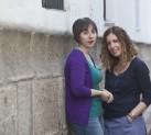 Elena Medel y Marta Jiménez
