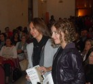 María Dueñas y Marta Jiménez en la presentación de 'Misión olvido'