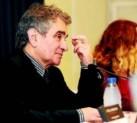 Bernardo Atxaga y Marta Jiménez en la conferencia 'Otra mirada'
