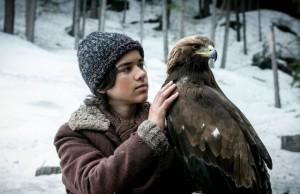 El pedrocheño Manuel Camacho se hace amigo ahora de un águila en la gran pantalla